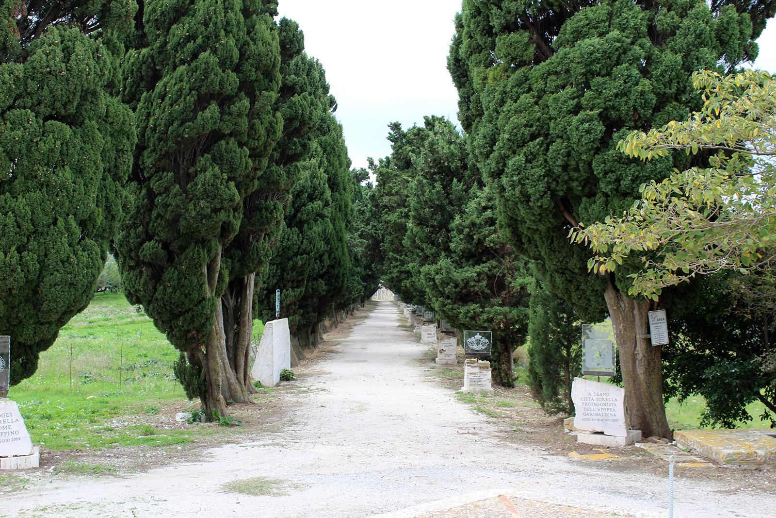 viale delle rimembranze pianto romano